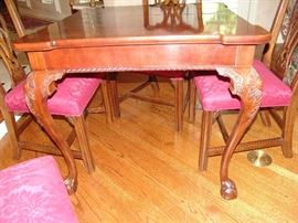 Legs of Game table