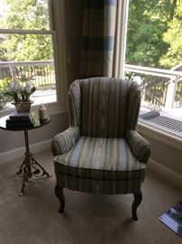 Calico Corner Tapestry Wing Chairs - 2