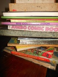 Old books including children's