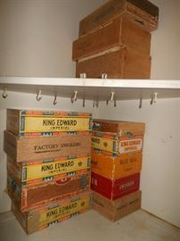 Old cigar boxes