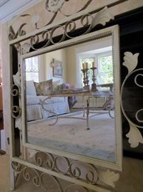 Mirrored Fireplace Screen $55
