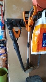 WORX Blower and Trimmer