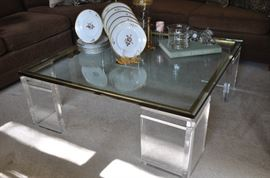 Great detail of this stunning coffee table