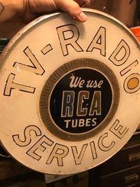 Rare RCA Advertising light