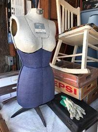 Vtg dress form