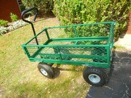 Green Utility Cart - Like New