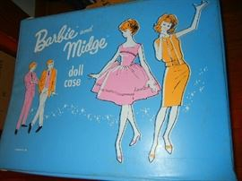 Barbie & Midge Doll Case with Doll and Clothes