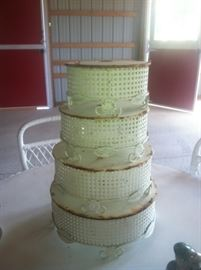 vintage 4 tier cake stand