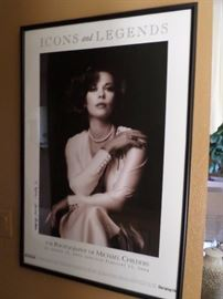 Famous photographer, MIchael Childers  signed this famous Poster of Natalie Wood he captured of 10 years ago.  This photo is the cover  of his famous photography book  $ 195