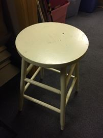 Primitive barstool set of 2.  Buy It Now $25