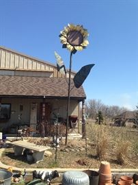 20' tall Sunflower **BUY IT NOW PAYPAL** make your highest and best offer over $1000