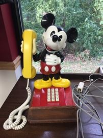 Mickey Mouse phone $60