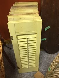 Primitive shutters $25 for all