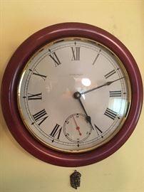 ETHAN ALLEN MID CENTURY CLOCK