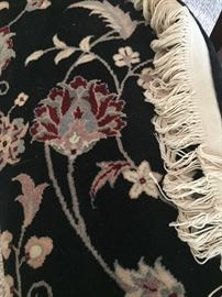 Wool area rug 10 - 14 - excellent condition