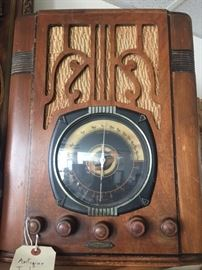 Antique cathedral radio...works!