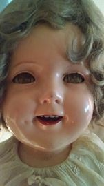 CLOSE-UP...LARGE SHIRLEY TEMPLE DOLL