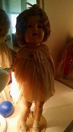 "LARGE 26"" SHIRLEY TEMPLE DOLL"