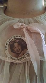 **RARE** SHIRLEY TEMPLE PIN BACK