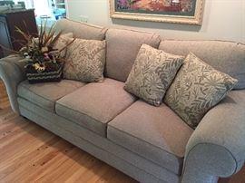 3-cushion Bassett couch