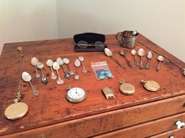 sterling items, watches and other vintage pieces