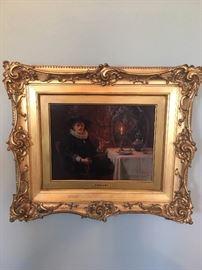 """Johann Grund (1808-1887), """"The New Vintage"""""""