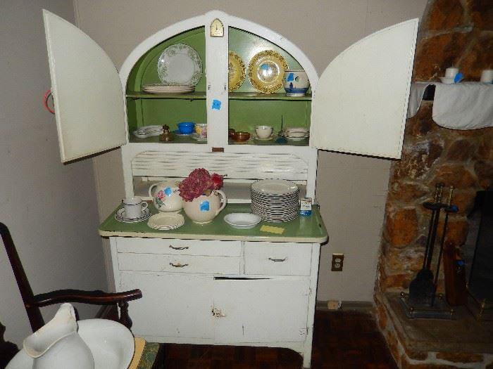 Art Deco Hoosier Cabinet, NICE!
