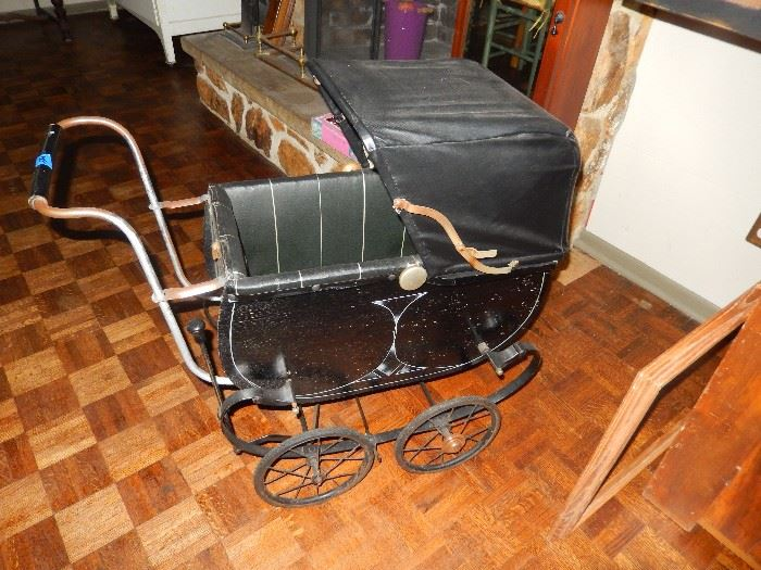 Antique Baby Carriages