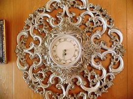 Large French Provincial hall clock