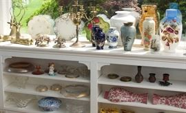 Assorted Vases,console set, wall decor and MORE!