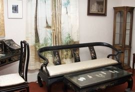 Asian Lacquer furniture
