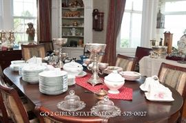 Empire Dining Room table and chairs