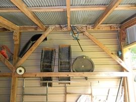 More in same shed as riding mower