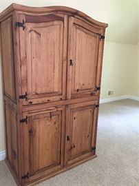 Pine Armoire - beautiful condition