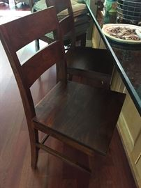 Crate & Barrel Barstools (view w/o cushion) - 4 available