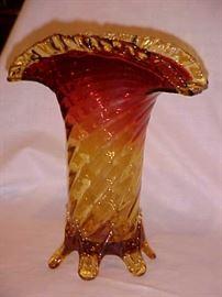 Large Ambina art glass vase.