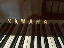 Yamaha Zebra Wood Baby Grand Player Piano (68'' x 57'')