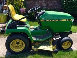 "1994 John Deere 240 Lawn & Garden Tractor 14HP Kawasaki Engine, 42"" deck."