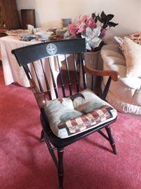 side chair - wood