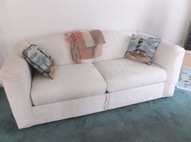 Like new sleep sofa - light house pillows sold separately