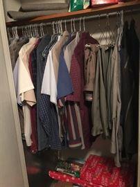 Men's clothing - large & extra large