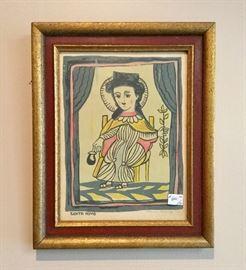 Louie Ewing,  So.W. Artist, 1908-1983 Silkscreen W.P.A. Prints (set of 12) all signed.