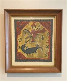 Louie Ewing, So.W. Artist, 1908-1983 Silkscreen W.P.A. Prints (set of 12) all signed