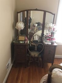 Beautiful antique vanity