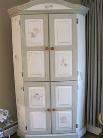decorated cabinet