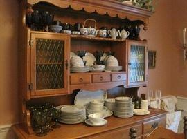 maple hutch & china