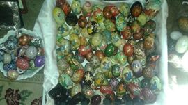 MORE!! Very Special, unique, and beautiful Hand Painted Russian Eggs