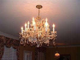 Fabulous vintage chandelier