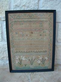 Sampler dated 1802