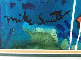Mike Smith Original Watercolor